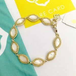 Kendra Scott Jana Link Bracelet in white
